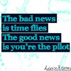 Inspiring quotes sayings time news pilot