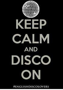An English Disco Lovers poster. Photograph: English Disco Lovers
