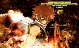Anime Quotes Fairy Tail Natsu (10)