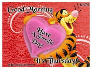 Its Thursday
