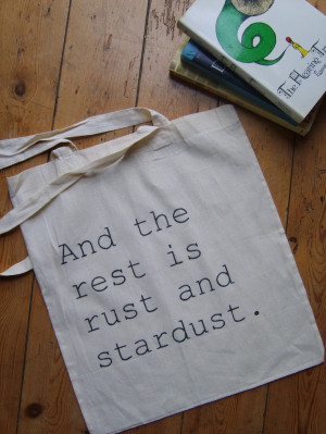 Rust and Stardust Nabokov Lolita Quote Book Bag Tote. $17.25, via Etsy ...