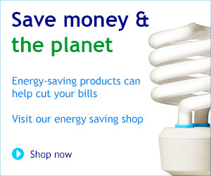 Save money and the planet. Visit our energy saving shop