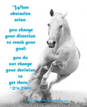 Click to go to a large picture quote on- What To Do When Obstacles ...
