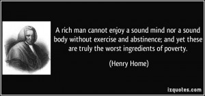 Truly Rich Man Quote