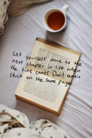 Let Yourself move to the next chapter in life when the time comes, Don ...