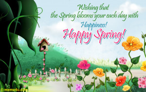 Happy Spring Day Friends!