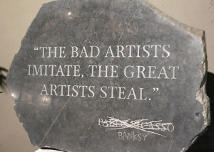 Great artists steal