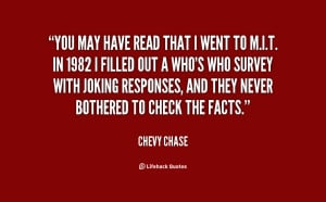 Chevy Chase Movie Quotes