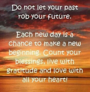 Each day is a new day