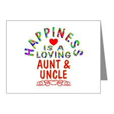 Aunt And Uncle Thank You Cards & Note Cards