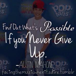 Austin Mahone Tumblr Quotes Picture