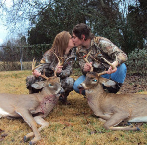 Cute Hunting Quotes For Couples Deer hunting couples. via mercedes ...