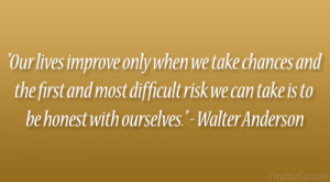 Walter Anderson Quote
