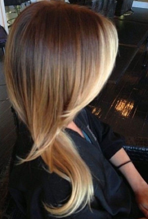 light brown ombre hair color ideas