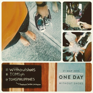 Thanks @barbbarellla for inviting us to @TOMSPHILIPPINES #withoutshoes ...