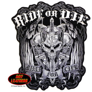 Hot Leathers Ride or Die Biker for Life Patch