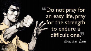 Mental toughness. Bruce Lee quotes