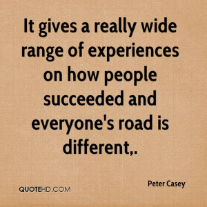 It Gives A Really Wide Range Of Experiences On How People Succeeded ...