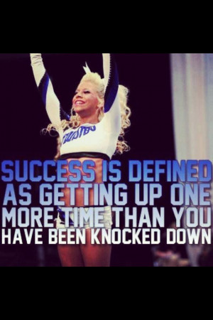 Cheer Quote Cheerleading Cheerleader Motivation