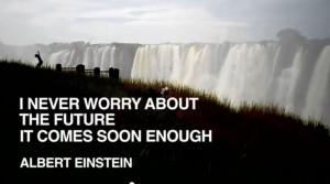 albert einstein quote #future