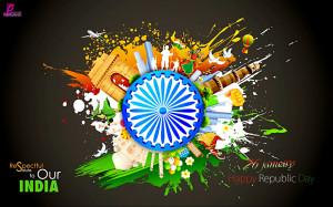 26 January Republic Day of India Missile Celebration Card Images Happy ...