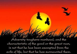 Tags: adversity , manhood , Patrick Henry , surmount