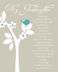 ... goddaughter quotes custom gift gift for godchild personalized gifts