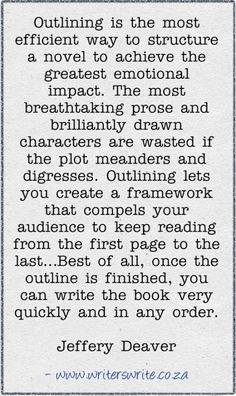 ... the greatest emotional impact jeffery deaver # quotes # writing