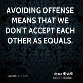 Offense Quotes