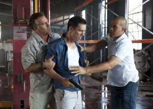 BURN NOTICE — Episode 611 — Pictured: (l-r) Bruce Campbell as Sam ...