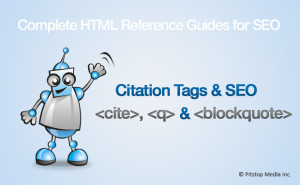 blockquote, cite and q Tags and SEO