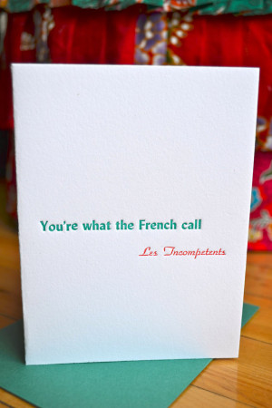 Letterpress Holiday Movie Quote Card - Home Alone