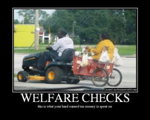 Lottery winner still on welfare