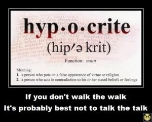 Religious Hypocrisy