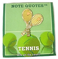 notebook with tennis quotes great gift classy notepad has tennis