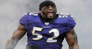 Ray Lewis Joins Ravens Ring...