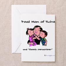 Fraternal Twins Greeting Cards