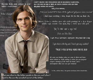 Criminal Minds Spencer Reid Quotes