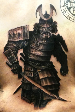Samurai Warrior Quotes Samurai-tattoo-warrior