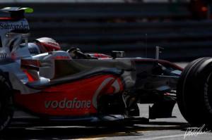 Heikki Kovalainen Monaco GP 2008