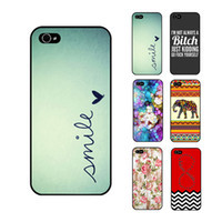 Wholesale S5Q Quote Retro Print Phone Case Hard Cover Back Skin ...