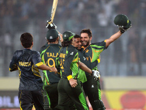 Cup, highlights: Shahid Afridi inspires Pakistan to one-wicket win ...