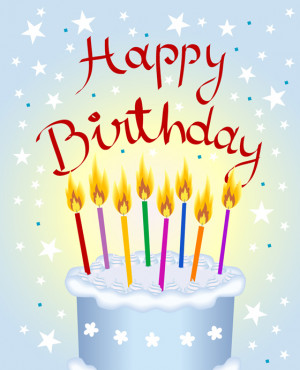 Happy Birthday picture for Facebook