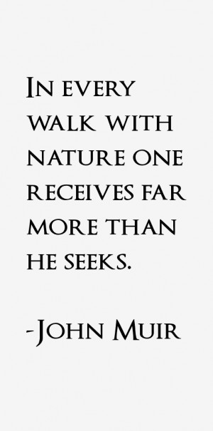 Return To All John Muir Quotes
