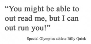 inspirational quotes about special olympic