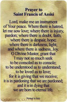 saint francis of assisi one of my favorite quotes of all time more st ...