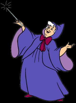 Fairy Godmother pic for a godmother card - from www.disneyclips.com ...