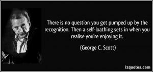 More George C. Scott Quotes