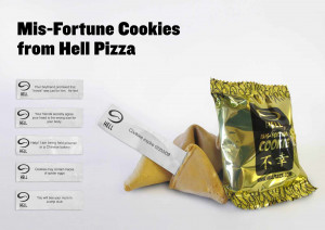 Hell Pizza: Mis-Fortune Cookies