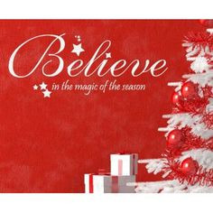 : Believe in the Magic of the Season - Christmas Religious God Christ ...